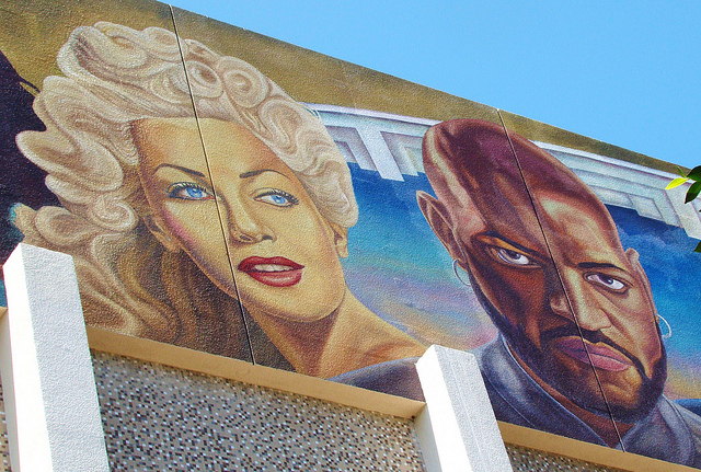 Lana's image is on their mural from the 1990s.
