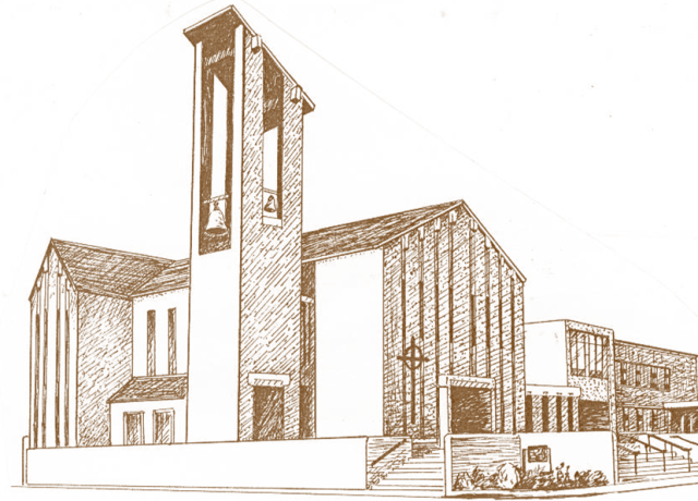 our church sketch