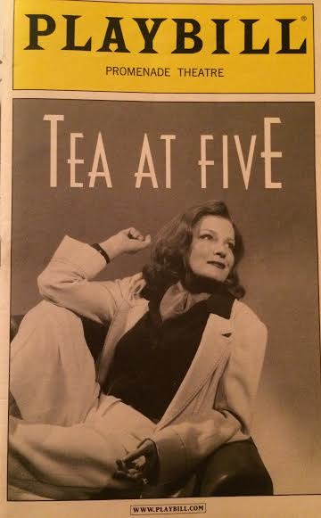 Playbill from my personal collection