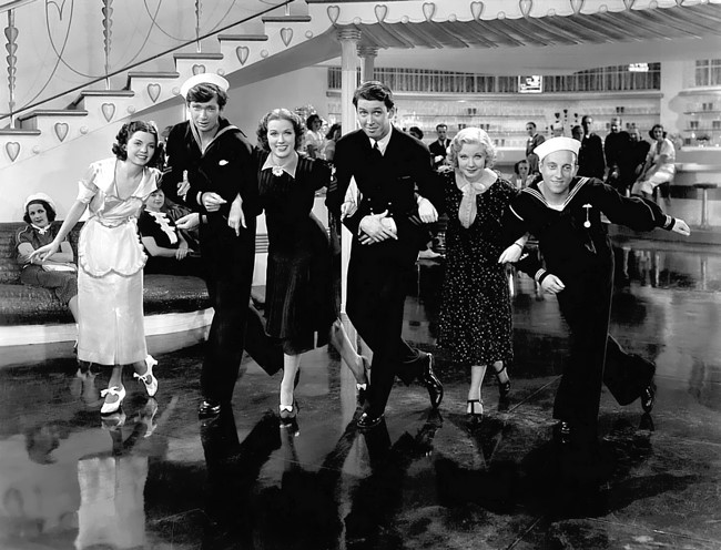 Image result for born to dance 1936 movie cast