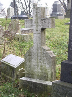 Grave of Georgiana.