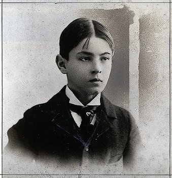 John, age 9.