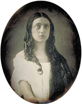 Louisa as Ophelia