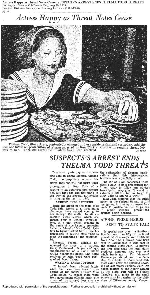 GREAT PIC OF THELMA AT CAFE LA TIMES (1).jpg