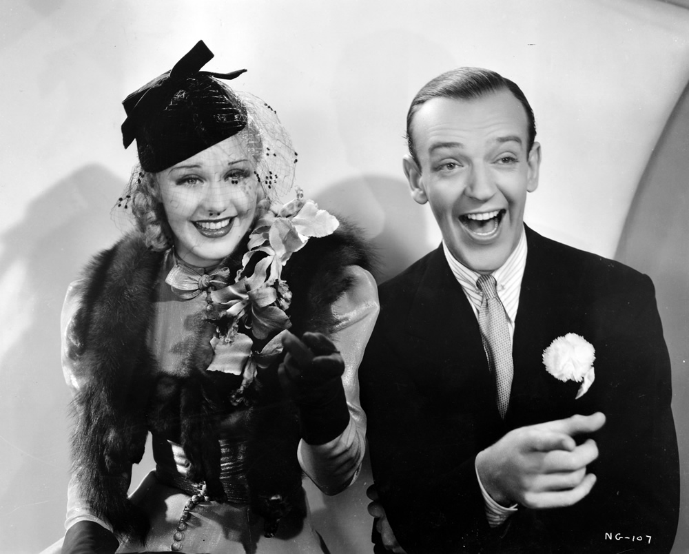 Fred Astaire Ginger Rogers Swing Time Hometowns To Hollywood