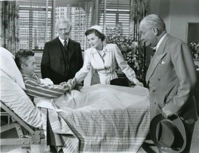 Larry Parks, Ludwig Donath, Barbara Hale and William Demarest Jolson Sings Again (1949)