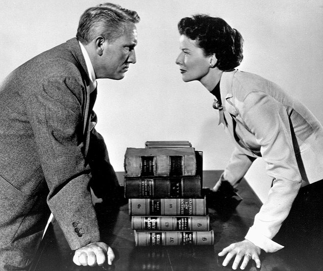 SPENCER TRACY & KATHARINE HEPBURN Film 'ADAM'S RIB' (1949) Directed By GEORGE CUKOR 18 November 1949 SSF20356 Allstar Collection/MGM **WARNING** This photograph can only be reproduced by publications in conjunction with the promotion of the above film. For Editorial Use Only