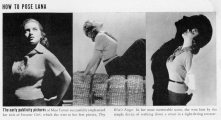Turner as sweater girl in Bush, Niven - Lana Turner - LIFE 23 Dec 1940 p 62-67 page-by-page
