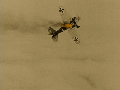 German fighter fire - Wings (1927)