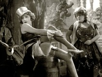 The Blue Angel (1930 Germany) aka Der Blaue Engel Directed by Josef von Sternberg Shown from left: Marlene Dietrich (as Lola Lola), Rosa Valetti (as Guste)