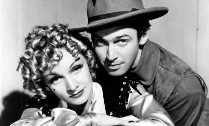 Jimmy-Stewart-Marlene-Dietrich-Destry-Rides-Again-1939-western-comedy-1024x621