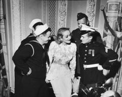 Marlene Dietrich 1942 USO Astor Hotel, NY
