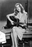 Rita Hayworth + Gilda + Jean Louis + guitar