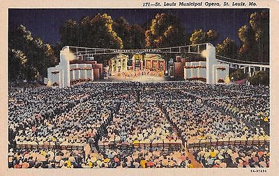 Missouri-postcard-St-Louis-Municipal-Opera-at-night