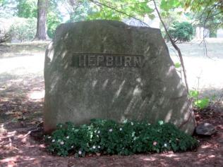hepburn-grave