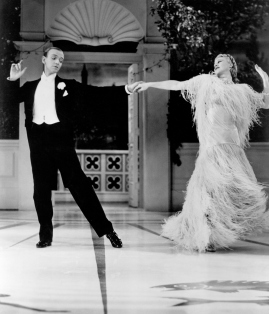 Top Hat (1935) Directed by Mark Sandrich Shown from left: Fred Astaire, Ginger Rogers