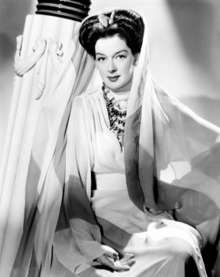 Rosalind Russell, Warner Brothers portrait, ca. 1940s