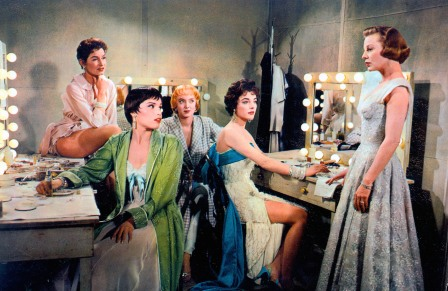 The Opposite Sex (1956) Directed by David Miller Shown from left: unidentified, Barrie Chase, Carolyn Jones, Joan Collins, June Allyson