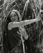 lupe-velez-with-plants-edward-steichen