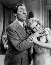 LIBELED LADY, from left, William Powell, Jean Harlow, 1936