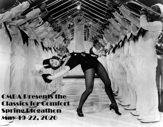 Classics for Comfort blogathon Born to Dance Eleanor Powell Banner sized