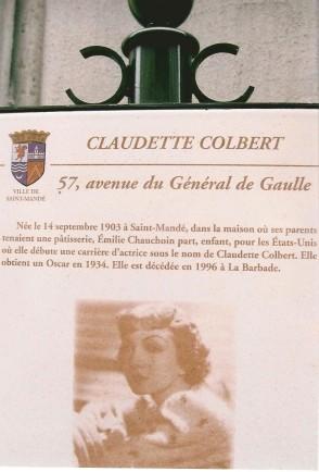 Colbert-plaque