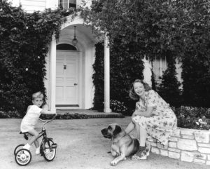 Virginia-and-her-son-Christopher-1944-Maroney-Lane.CREDIT.Courtesy-of-Scott.OBrien-collection-300x241